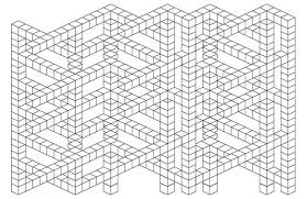 Small Picture I Created Impossible 3d Optical Illusions You Can Color In Bored