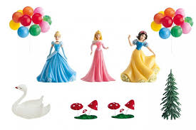 Disney Princess Cake Decoration Set 9 Piece