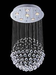 lightess com supplies lightess modern contemporary large luxury crystal ceiling light rain drop chandelier lights