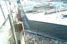 cinder block foundation repair wall waterproofing in sealer basement crumbling c