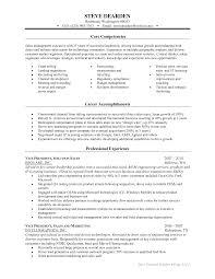 Core Competencies Resume Examples Najmlaemah Com