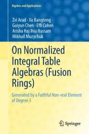 On Normalized Integral Table Algebras (Fusion Rings): Generated by a  Faithful Non-real Element of Degree 3 - PDF Free Download