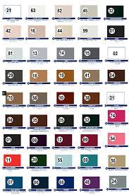 Tarrago Dye Color Chart Accessories