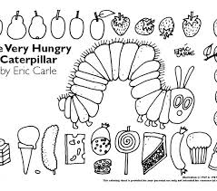 Small Picture Very hungry caterpillar coloring page the official eric carle web