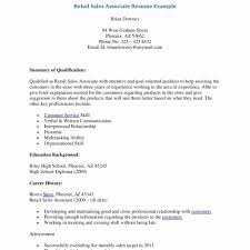 Retail Sales Resume Retail Resume Example New Resume Templates Retail Sales Resume 63