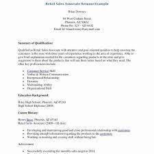Retail Sales Resume Retail Resume Example New Resume Templates Retail Sales Resume 63