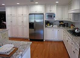 Creativity Custom White Kitchen Cabinets Granite T With Modern Design