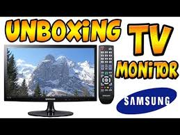 samsung tv monitor. tv monitor samsung 21.5 full hd - unboxing !!! samsung tv monitor