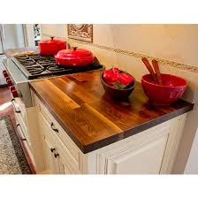 butcher block counter tops blended walnut 25 deep kitchen counter top 1 1 2 thick by john boos kitchensource com