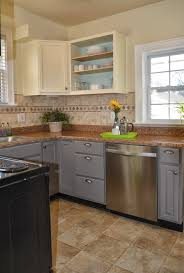 Kitchen Craft Cabinets Review Remodelaholic Diy Refinished And Painted Cabinet Reviews