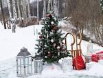 Зимние декорации для фотосессии