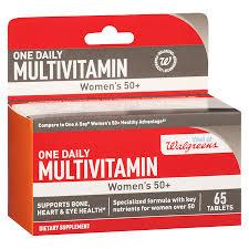 tv key walgreens. walgreens women\u0027s 50+ one daily multivitamins tv key s