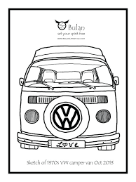 Retro Camper Coloring Pages Gallery Of Camper Trailer Coloring Pages