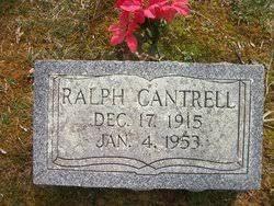 Ralph Cantrell (1915-1953) - Find A Grave Memorial