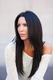 Dark Brown Long Hair Extensions Photo