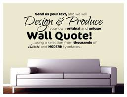 design your own wall art quote vinyl wall art decal sticker decoration quotes from song lyrics  on creating your own wall art with wall art top 10 sample collection design your own wall art turn
