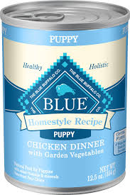 blue buffalo homestyle recipe puppy en dinner with garden vegetables canned dog food 12 5 oz case of 12 chewy