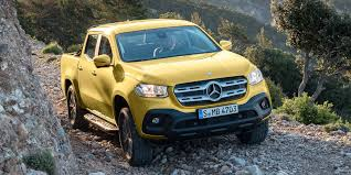 Why Americans can't buy the new Mercedes-Benz X-Class pickup truck ...