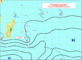 Synoptic Chart Mauritius Meteorological Services