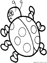 Small Picture Free Insect Coloring Pages from SherriAllencom