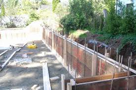 poured concrete wall al retaining walls sharecost als s fresh with poured concrete walls cost