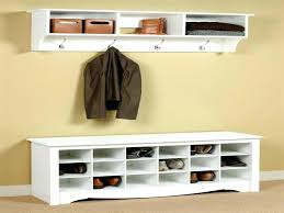 entrance coat rack bench plans storage with cherry combo and mirror wood  hall tree entryway free