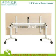 foldable office desk. modular office folding training table foldable conference desk meeting design a