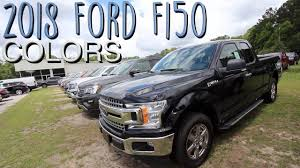 Heres The Colors Of The 2018 Ford F150s Exterior Color Review