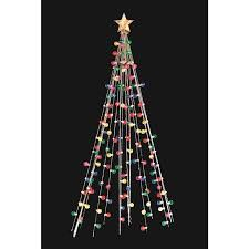 Home Accents Holiday 45 Ft PreLit Potted Artificial Christmas Holiday Home Accents Christmas Tree