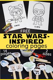 Download and print star wars coloring pages for kids! Free Star Wars Inspired Coloring Pages For Kids Rock Your Homeschool