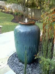 vase fountain water feature fountains ideas with urn plans 18
