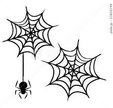 ハロウィンクモの巣のイラスト素材 23810749 Pixta