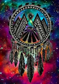 Colorful Dream Catcher Tumblr Colorful Dreamcatcher Stars Galaxy Eye Ramblings of an 61