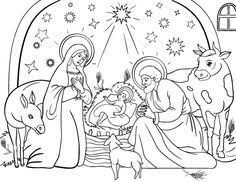 Small Picture Nativity scene coloring pages Nativity scene coloring book