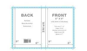 book cover template front microsoft word