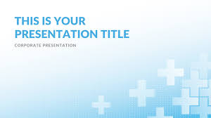 Medical Powerpoint Background Clinic Medical Free Powerpoint Template Keynote Theme