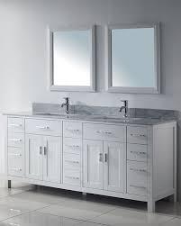 white vanity Bathroom Pinterest White vanity Vanities and