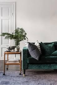 how to green velvet sofa roomlab
