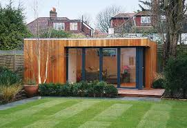 garden houses. lifestyle: think outside the box room and take your home-office to bottom of garden. garden houses i