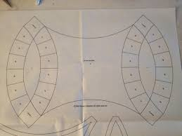 Sew Much Like Mom: Double Wedding Ring Quilt Along - Preparing the ... & Layout Template D Adamdwight.com