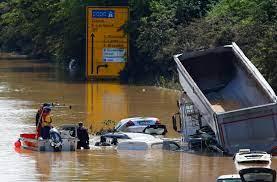 هلا أخبار | حصيلة فيضانات المانيا ترتفع إلى 156 قتيلا #هلا_اخبار #ألمانيا