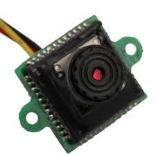 mc 493 520tvl mini color cctv pinhole camera black tmart