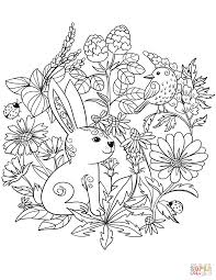 Coloring Pages Forest Animals Forest Animals Coloring Book Free Coloring Pages