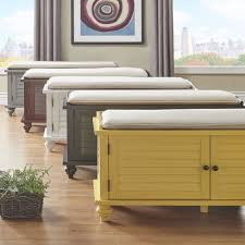 Maybelle Beige Velvet Cushioned Shutter Door Storage Bench by iNSPIRE Q  Classic - Free Shipping Today - Overstock.com - 20712811