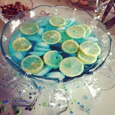 Easy Blue Punch Recipe  Genius KitchenBlue Punch For Baby Boy Shower