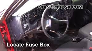 interior fuse box location 1994 2004 chevrolet s10 1996 chevrolet interior fuse box location 1994 2004 chevrolet s10