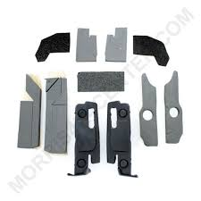 mopar front and rear door glass frame foam tape kit left and right side