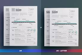 2 Pages Infographic Resume Vol 5 By The Resume Creator