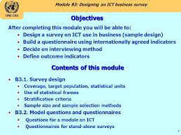 Designing And Ict Business Survey Ppt Download