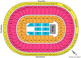 Joe Louis Arena Seating Chart Joe Louis Arena Detroit